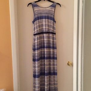 Loft Stripe Maxi Dress